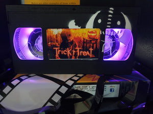 Trick 'r Treat Retro VHS Lamp With SAM Art Work