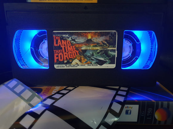 The Land That Time Forgot Retro VHS Lamp