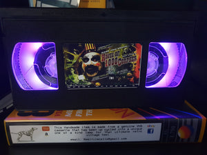 House of 1000 Corpses Retro VHS Lamp