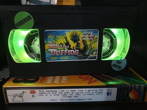 The Day of the Triffids Retro VHS Lamp