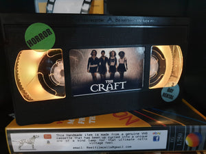 The Craft Retro VHS Lamp