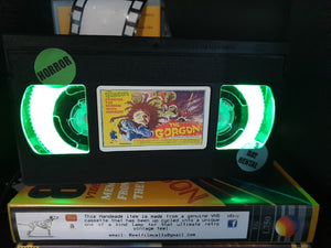 The Gorgon Retro VHS Lamp