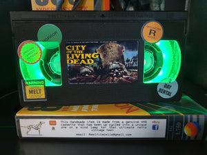 City of the Living Dead Retro VHS Lamp