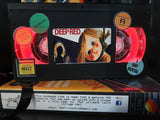 Deep Red Retro VHS Lamp