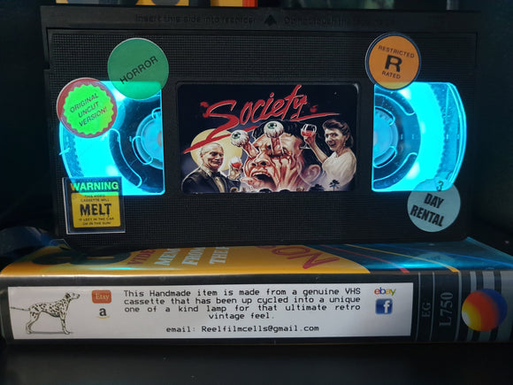 Society Retro VHS Lamp