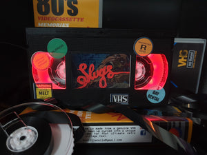 Slugs Retro VHS Lamp