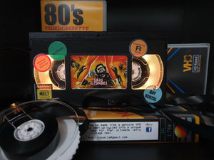 Oasis of the Zombies Retro VHS Lamp