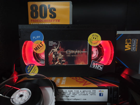 Conan the Barbarian Retro VHS Lamp