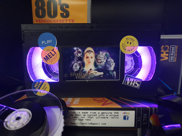 The Neverending Story Retro VHS Lamp