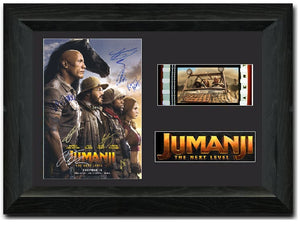 Jumanji The Next Level 35mm Framed Film Cell Display
