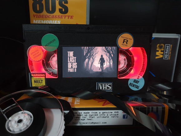 The Last of US Part 2 Retro VHS Lamp S2