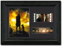 Load image into Gallery viewer, Start Trek - Picard 35mm Framed Film Cell Display Signed