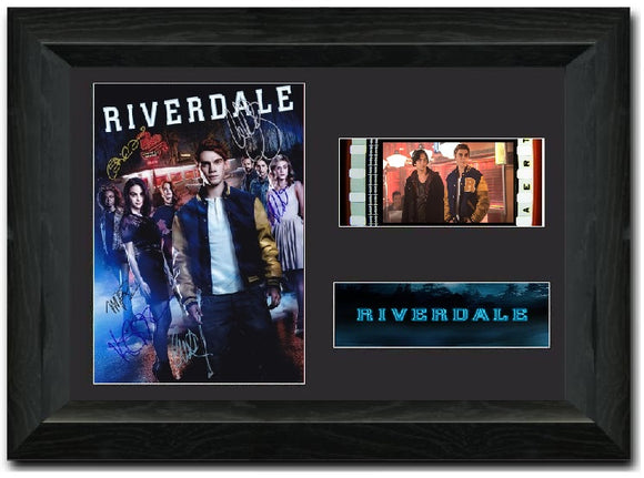 Riverdale 35 mm Film cell Display Cast Signed Framed