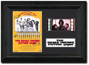 The Rocky Horror Picture Show S2 35mm Framed Film Cell Display Signed