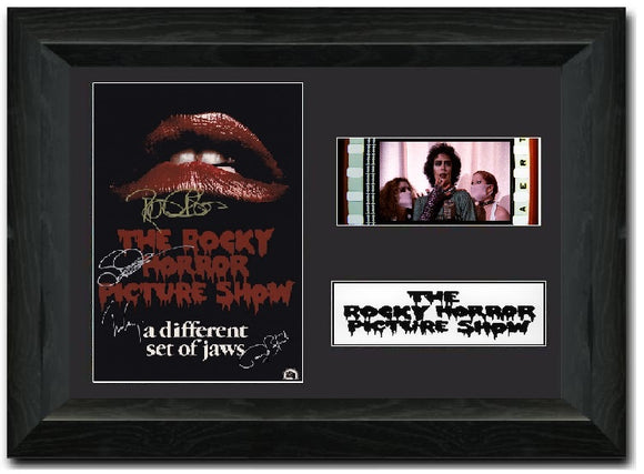 The Rocky Horror Picture Show S3 35mm Framed Film Cell Display Signed