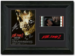 Evil Dead II 35mm Framed Film Cell Display Signed