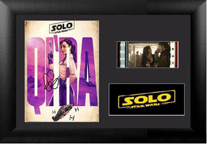 Solo A Star Wars Story 35mm Framed Film Cell Display Signed