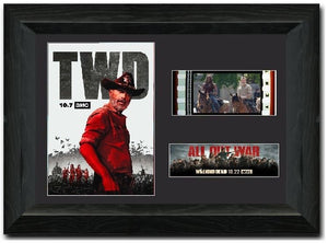 THE WALKING DEAD S9 35mm Framed Film Cell Display