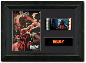 Hellboy S2 35mm Framed Film Cell Display Signed