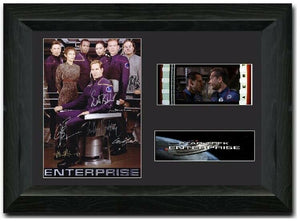 Star Trek: Enterprise 35mm Framed Film Cell Display Signed