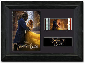 Beauty and the Beast 35mm Framed Film Cell Display