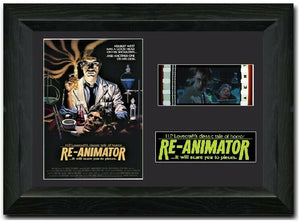 Re-Animator 35mm Framed Film Cell Display
