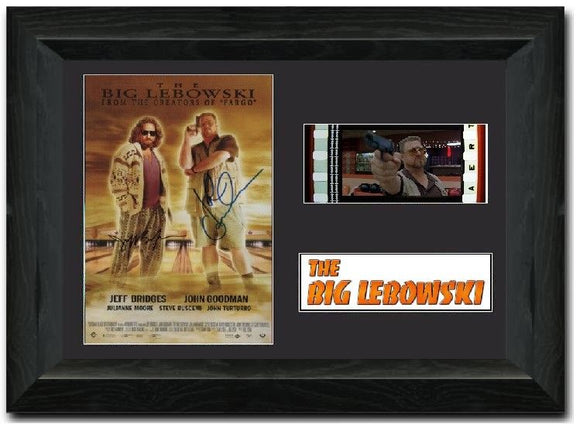 The Big Lebowski  335mm Framed Film Cell Display Signed