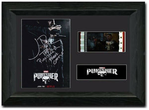 The Punisher 35mm Framed Film Cell Display Signed
