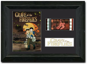 Grave of the Fireflies 35mm Framed Film Cell Display