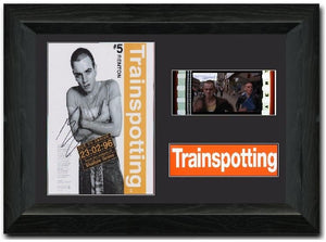 Trainspotting  35mm Framed Film Cell Display Signed
