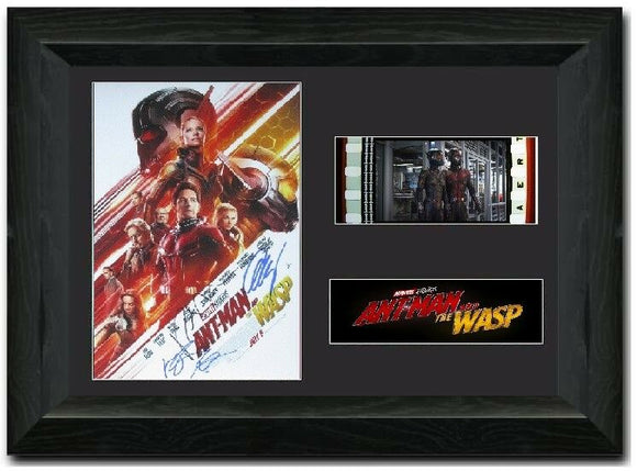 AntMan and the Wasp S1 35mm Framed Film Cell Display Signed