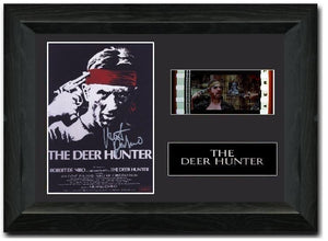 The Deer Hunter 35mm Framed Film Cell Display Signed