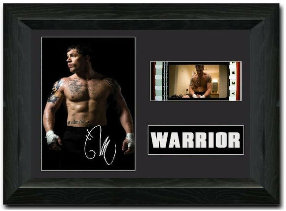 Warrior 35mm Framed Film Cell Display Signed