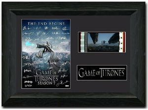 Game of Thrones S12 35mm Framed Film Cell Display