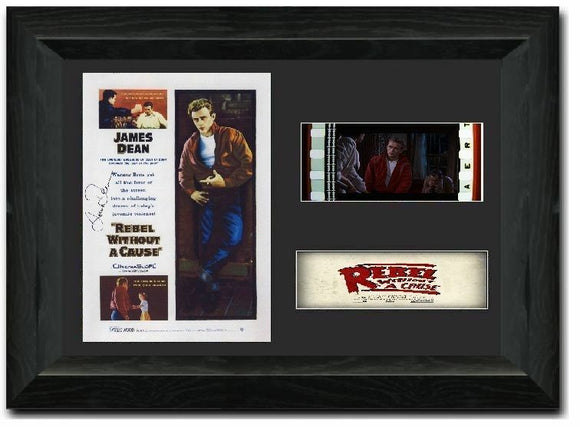 Rebel Without a Cause 35mm Framed Film Cell Display