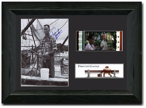 Forest Gump  35mm Framed Film Cell Display Signed