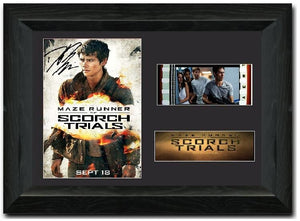 Maze Runner: The Scorch Trials 35mm Framed Film Cell Display