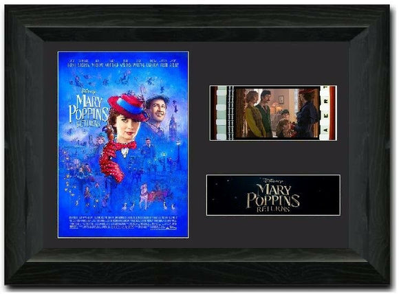 Mary Poppins Returns35mm Framed Film Cell Display
