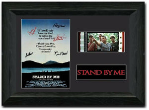 Stand by Me 35mm Framed Film Cell Display