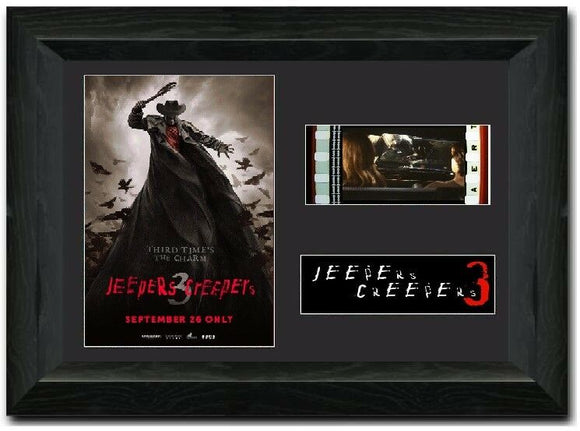 Jeepers Creepers 3 35mm Framed Film Cell Display