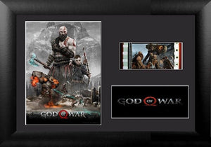 GOD OF WAR 35mm Framed Film Cell Display