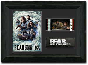 FEAR  THE WALKING DEAD 35mm Framed Film Cell Display