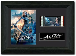 Alita: Battle Angel  S1 35mm Framed Film Cell Display LIMITED EDITION