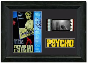 Psycho 35mm Framed Film Cell Display Signed