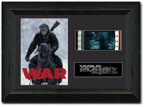War for the Planet of the Apes 35mm Framed Film Cell Display