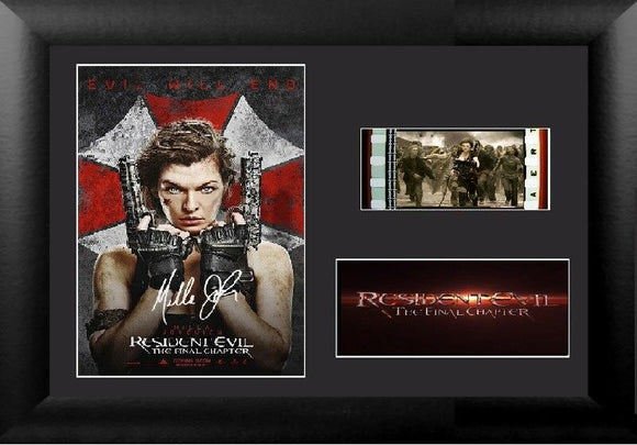 Resident Evil The Final Chapter  Signed