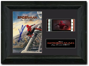 Spider-Man: Far From Home S1 35mm Framed Film Cell Display Signed