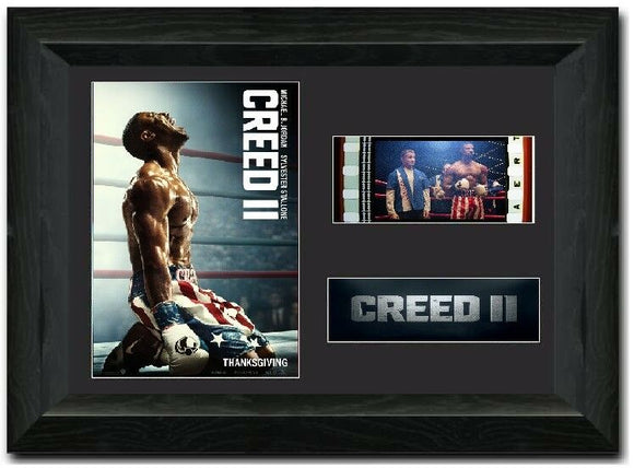 Creed II 35mm Framed Film Cell Display