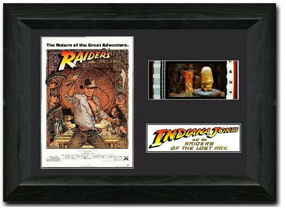 Raiders of the Lost Ark 35mm Framed Film Cell Display