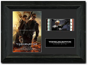 Terminator Genisys 35mm Framed Film Cell Display